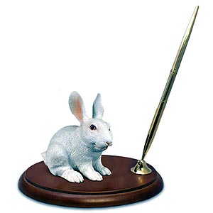 Rabbit Pen Holder