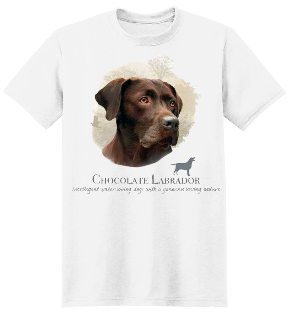 Chocolate Lab T-Shirt - Howard Robinson