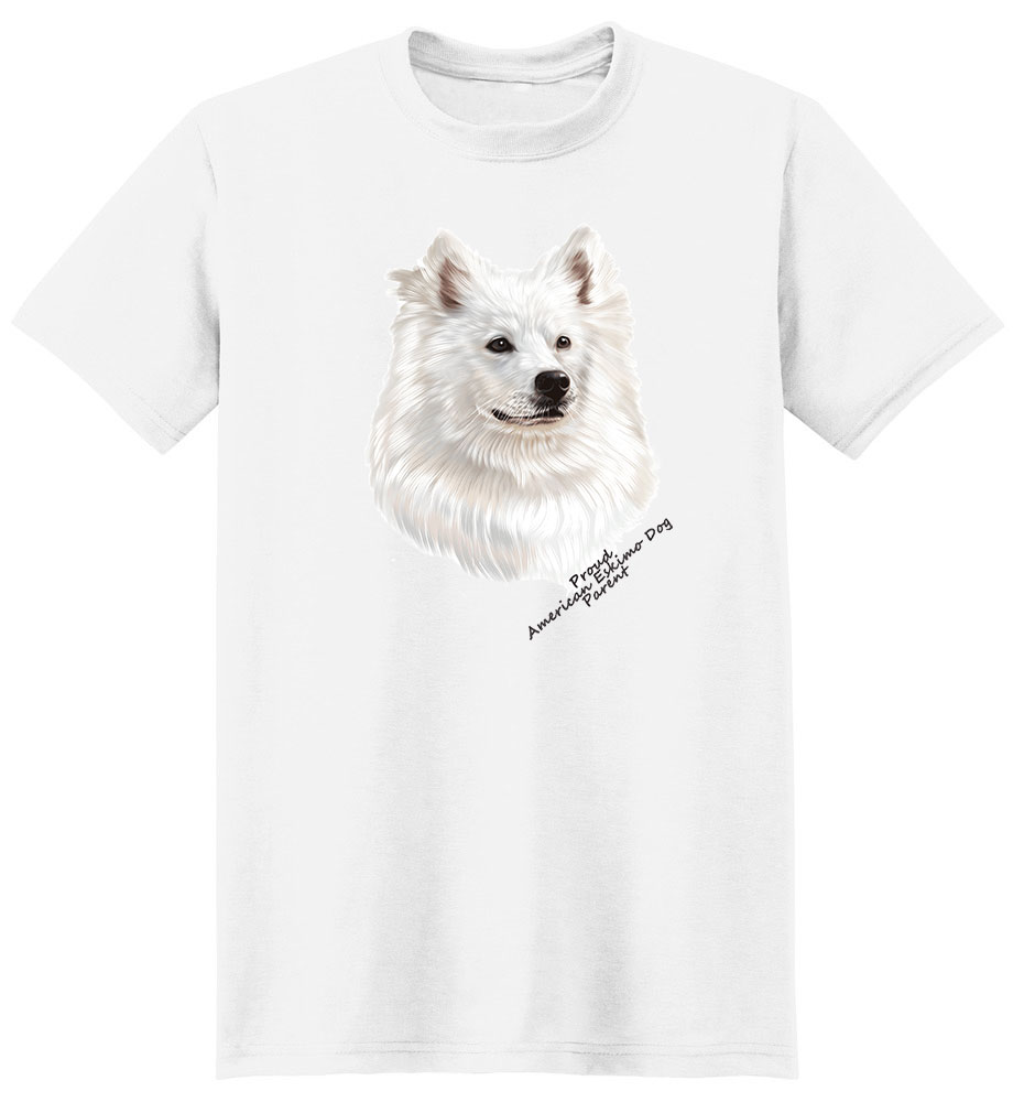 American Eskimo Dog T Shirt - Proud Parent
