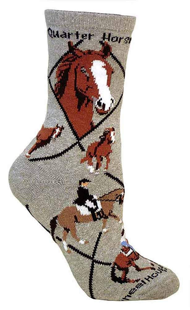 Quarter Horse Socks