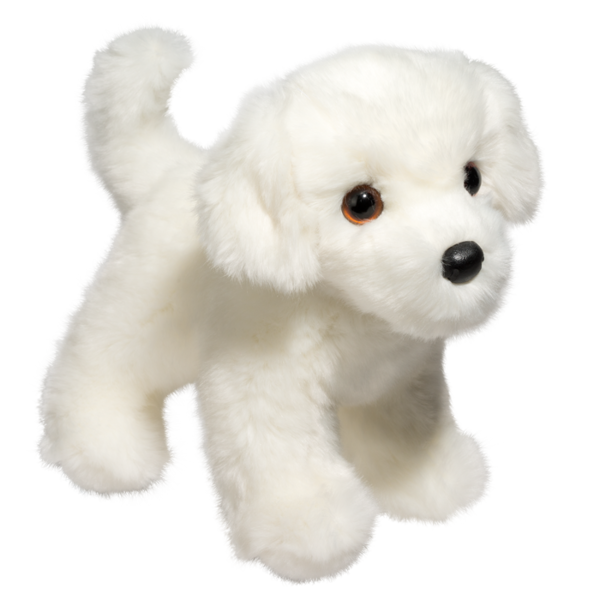 Bichon Frise Plush Stuffed Animal 10 Inch