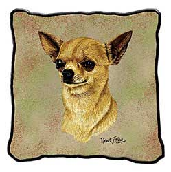 Chihuahua Tan Pillow