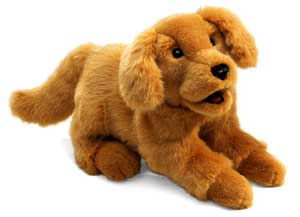 Golden Retriever Puppet