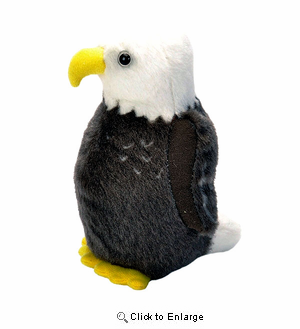 "Eagle Plush 6.5"" With Sound"