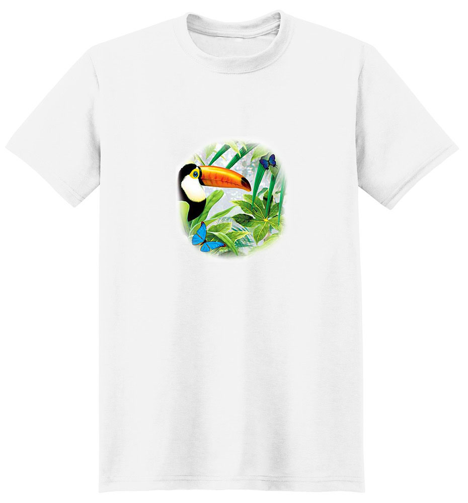 Toucan T-Shirt - Colorful Paradise
