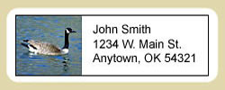 Geese Address Labels