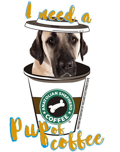 Anatolian Shepherd T Shirt - Coffee Mug