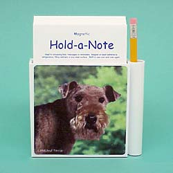 Lakeland Terrier Hold-a-Note