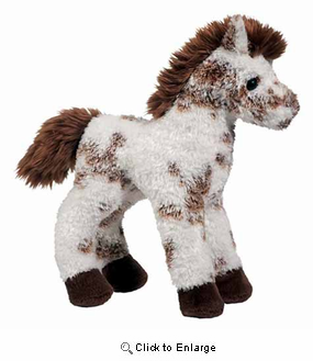 Stoney the Appaloosa Horse Plush Stuffed Animal 9""