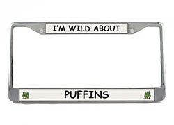 Puffin License Plate Frame