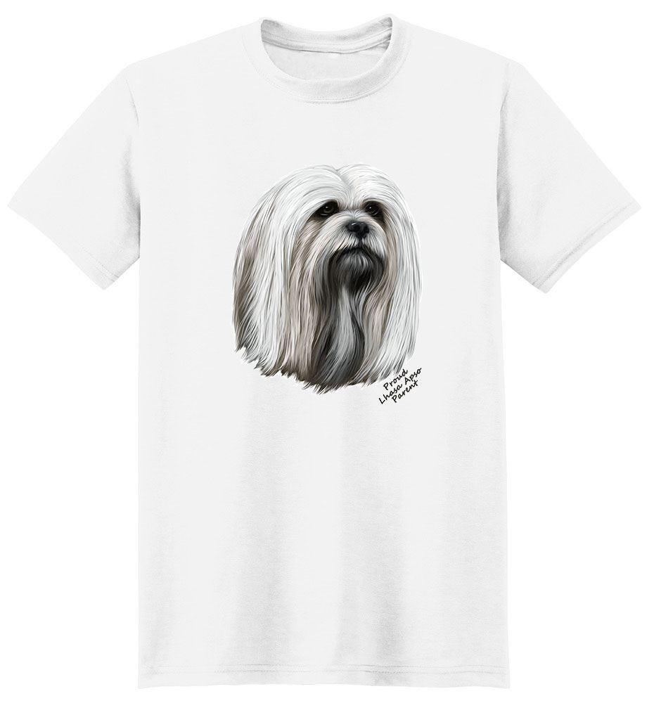 Lhasa Apso T Shirt - Proud Parent
