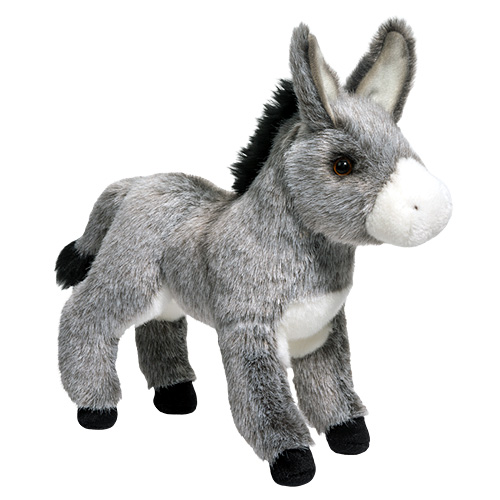 Standing Donkey Plush Stuffed Animal 11