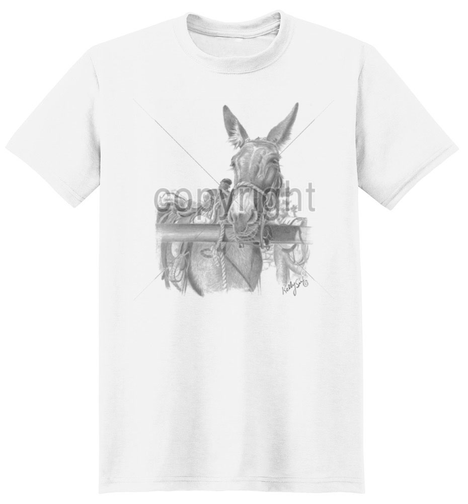 Donkey T Shirt Hanging Out