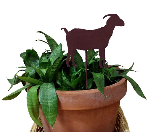 Goat Plant Stake