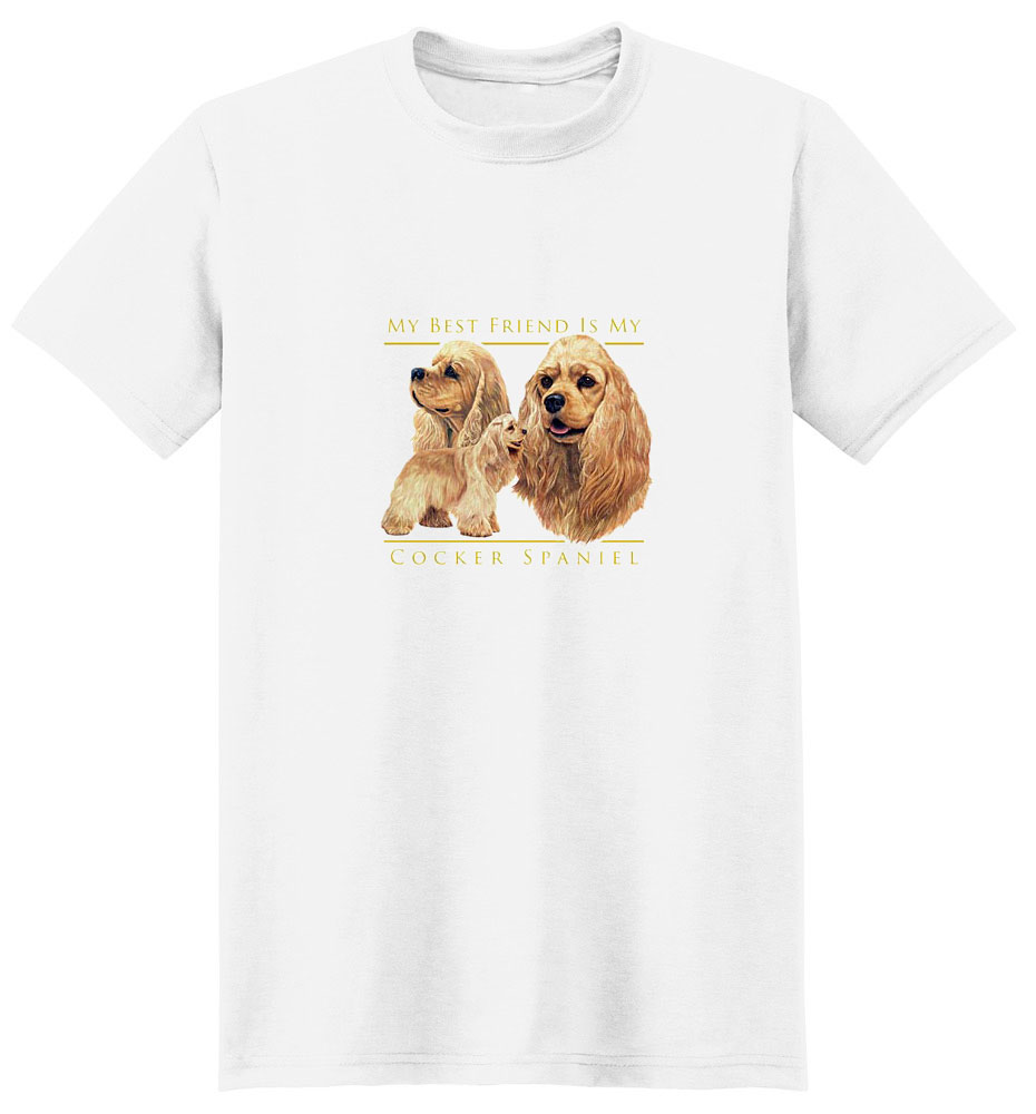 Cocker Spaniel T-Shirt - My Best Friend Is