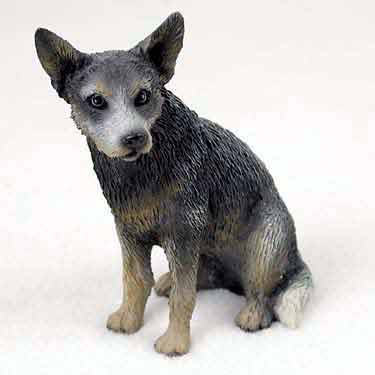 Australian Cattle Dog Figurine Blue