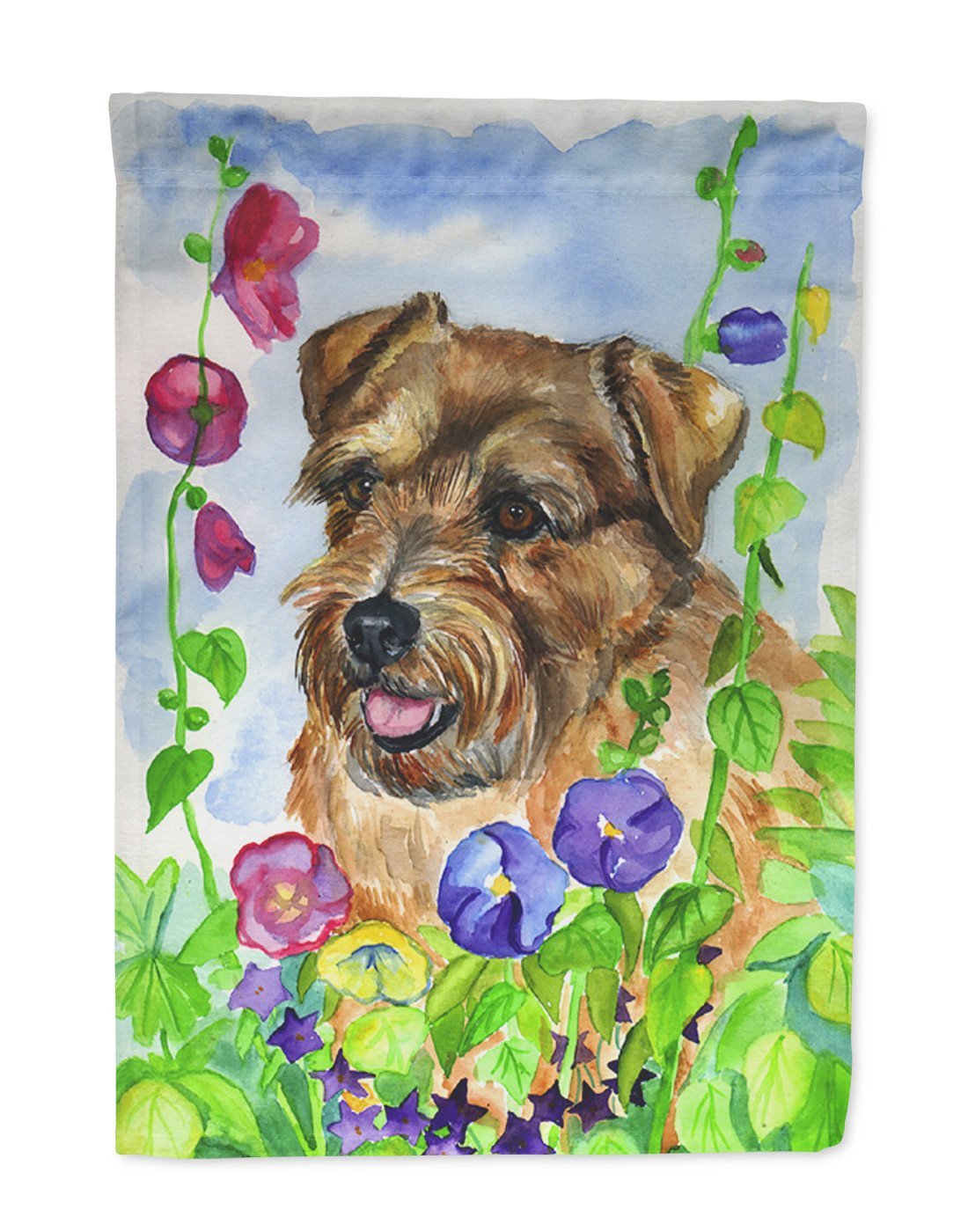 Norfolk Terrier Garden Flag