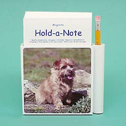 Norfolk Terrier Hold-a-Note