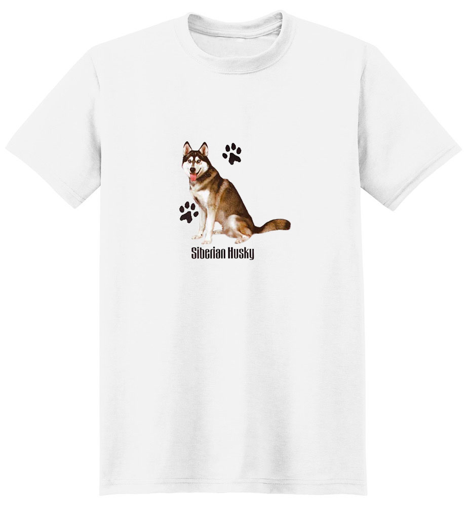 Siberian Husky T-Shirt - Stylin With Paws