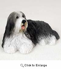 Bearded Collie Figurine