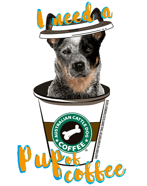 Australian Cattle Dog T Shirt - Coffee Mug