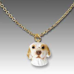 Clumber Spaniel Necklace
