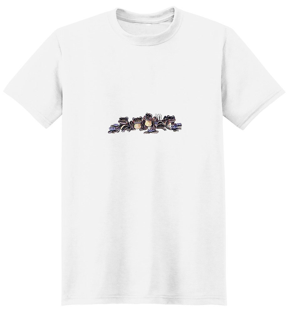Frog T-Shirt - Colorful and Fun