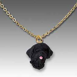 Portuguese Water Dog Necklace