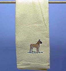 Great Dane Hand Towel
