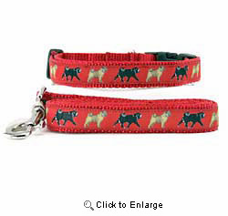 Pug Collar & Leash