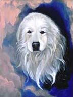 Great Pyrenees Garden Flag