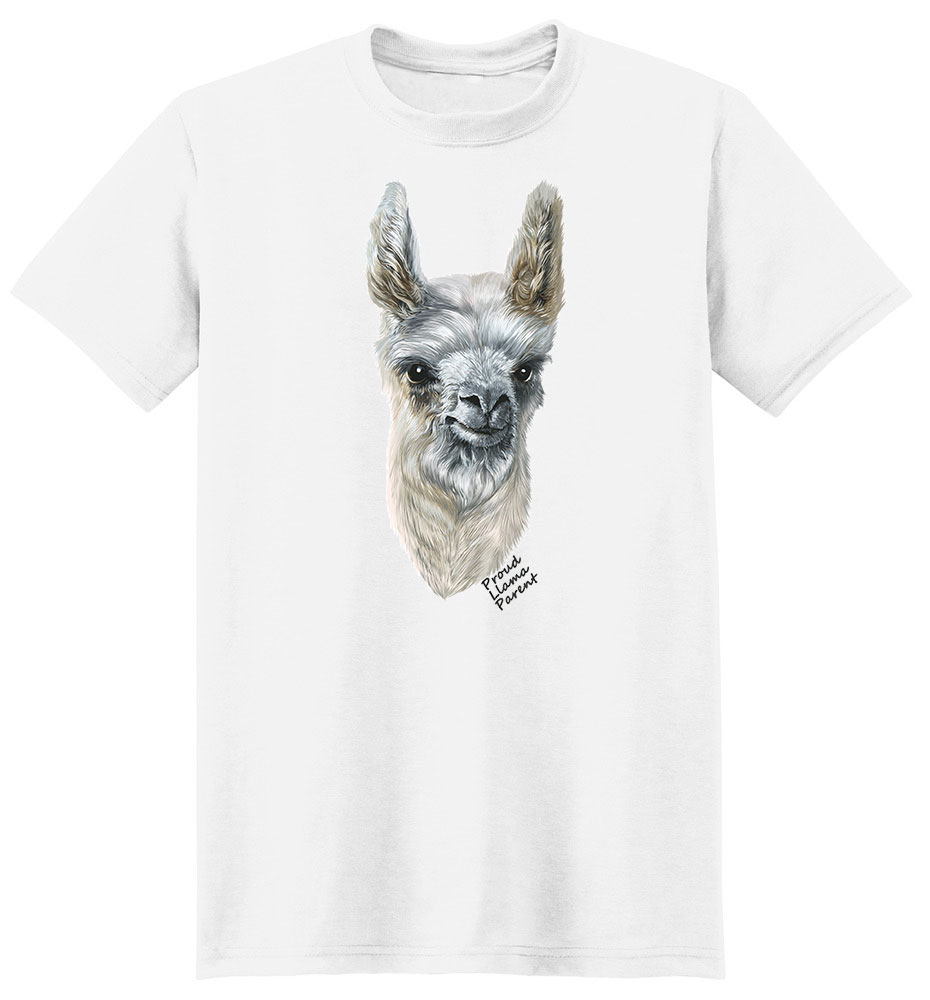 Llama T Shirt - Proud Parent