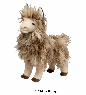 "Llama Lance 15"" Stuffed Plush Animal"