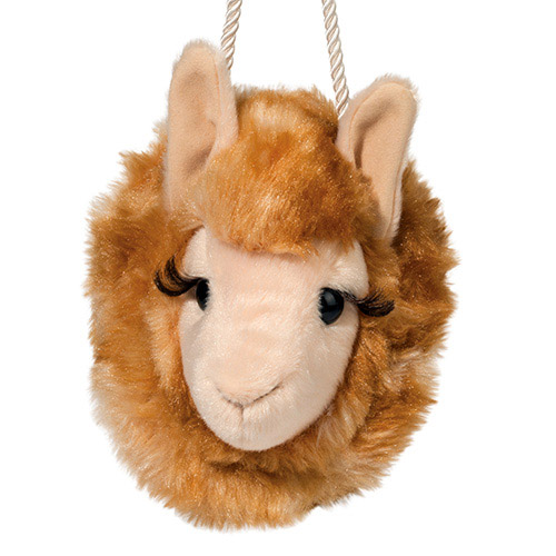 Llama Plush Stuffed Animal Purse
