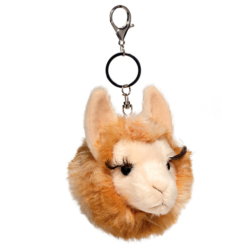 Llama Plush Stuffed Animal Pom Clip On 4