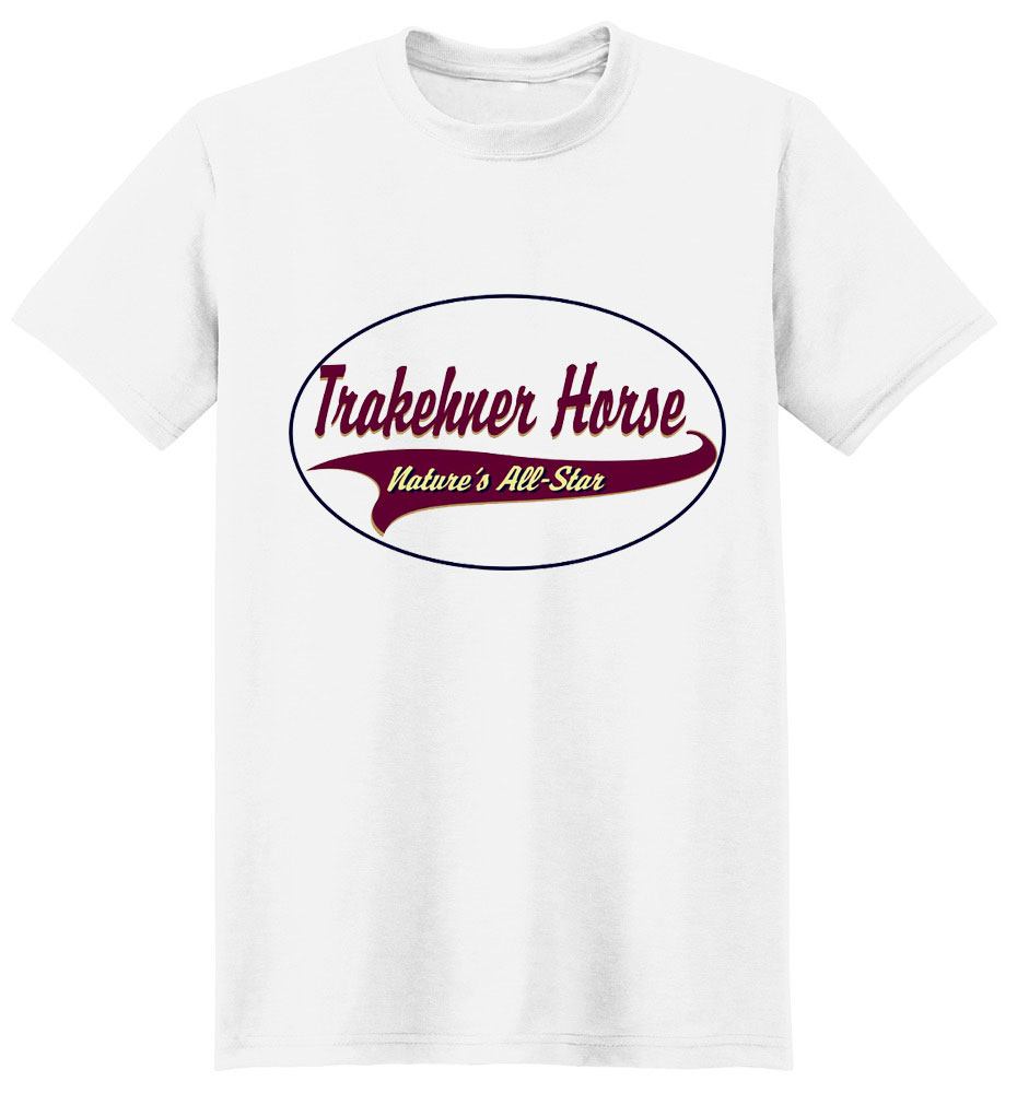 Trakehner Horse T-Shirt - Breed of Champions