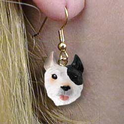 Pit Bull Terrier Authentic Earrings