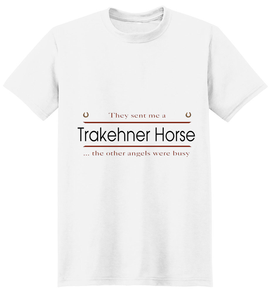 Trakehner Horse T-Shirt - Other Angels