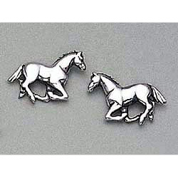 Horse Earrings Stud