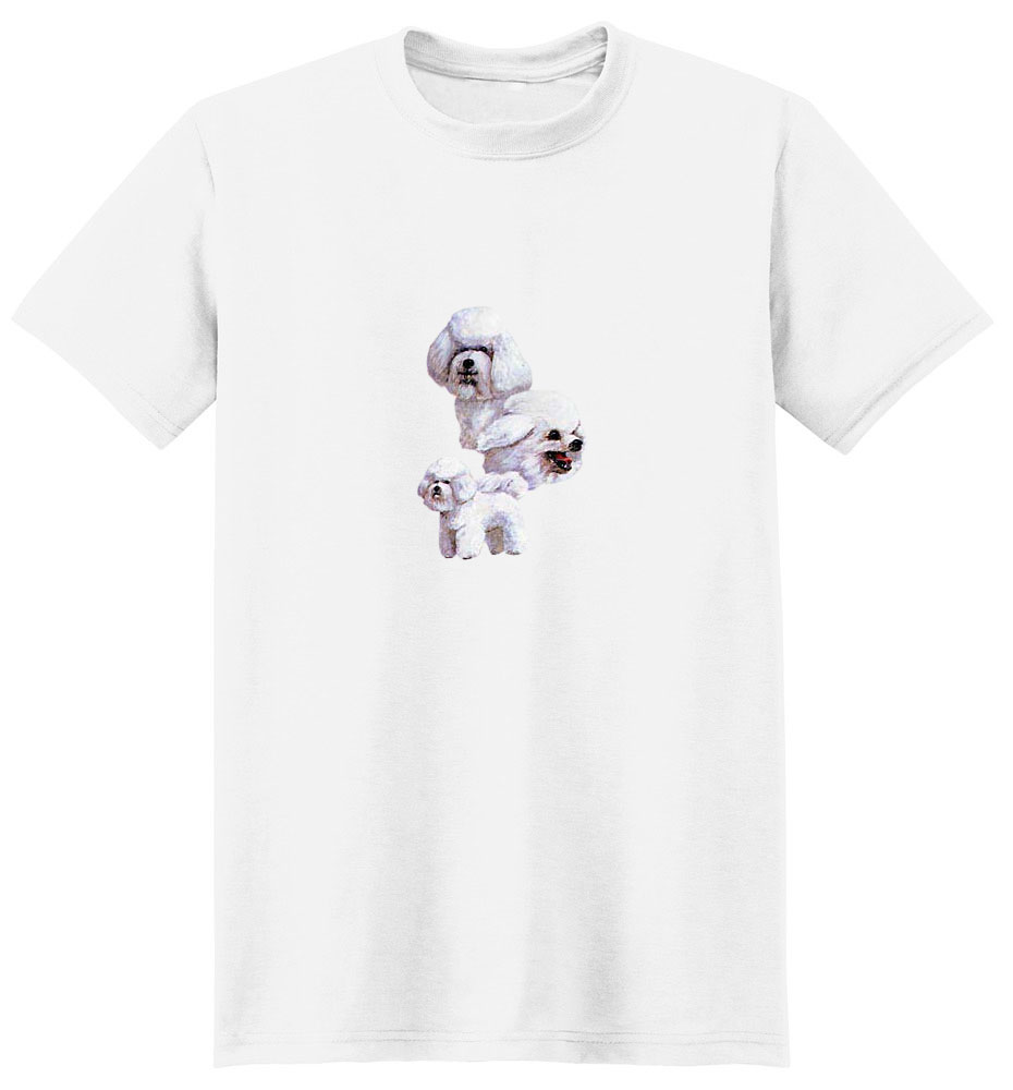 Bichon Frise T-Shirt - Best Friends
