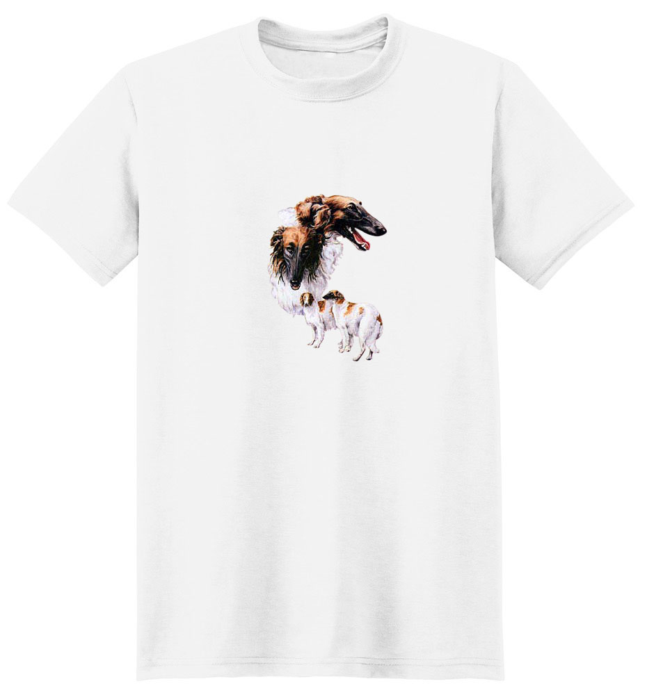 Borzoi T-Shirt - Best Friends