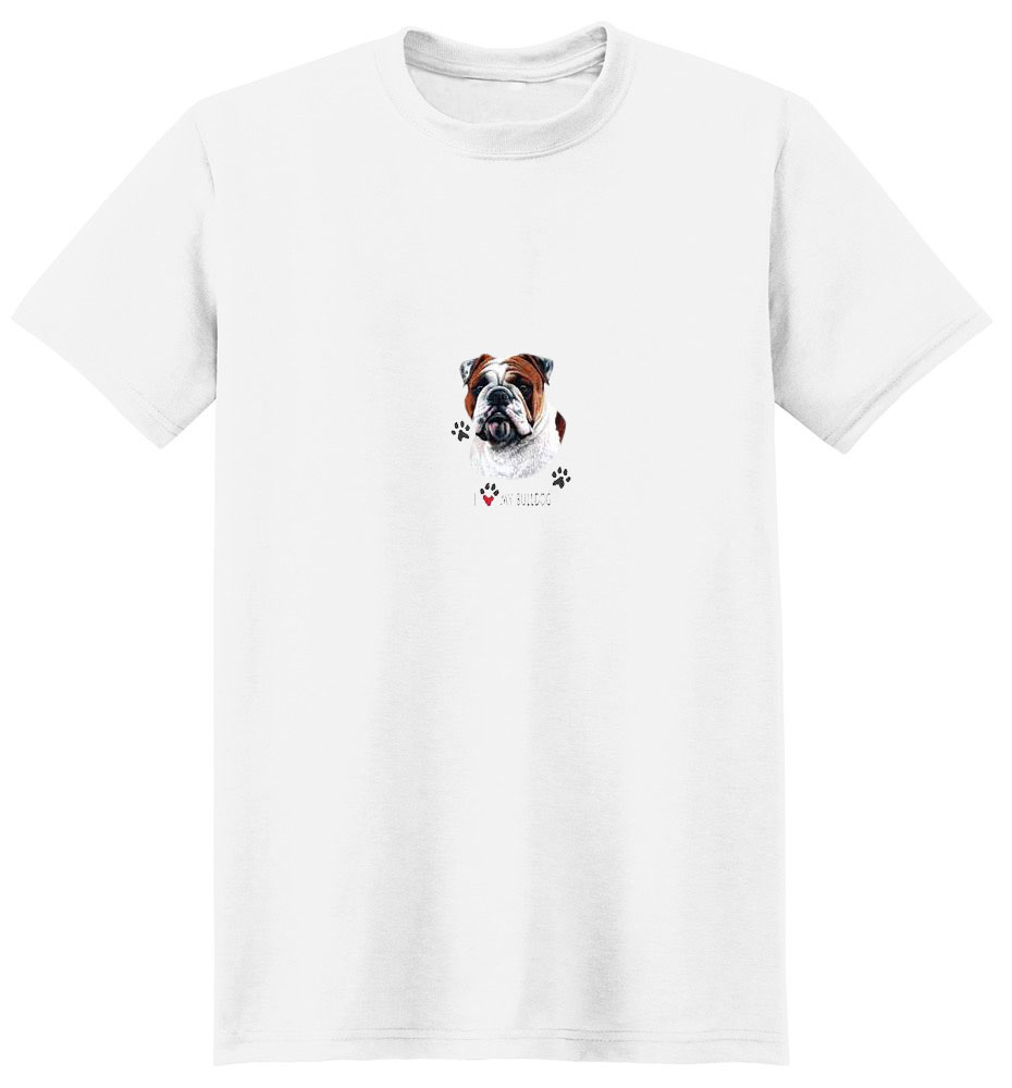 Bulldog T-Shirt - Linda Picken