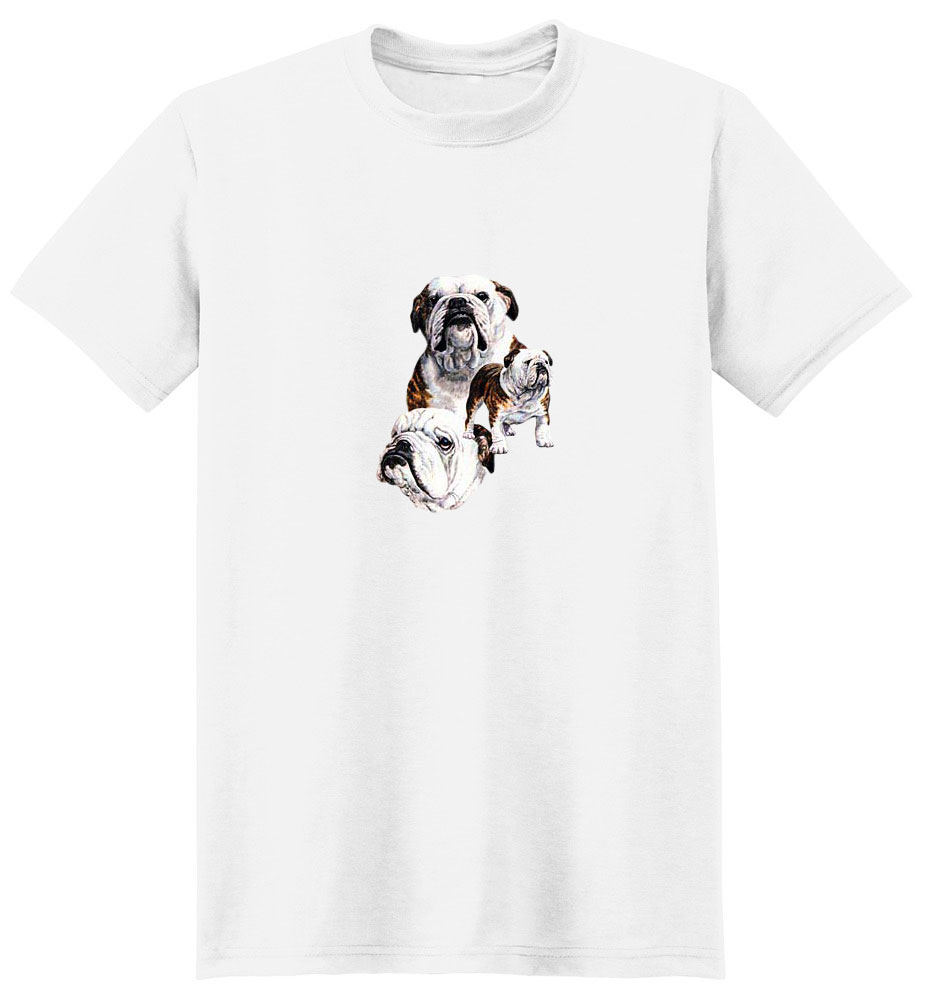 Bulldog T-Shirt - Best Friends