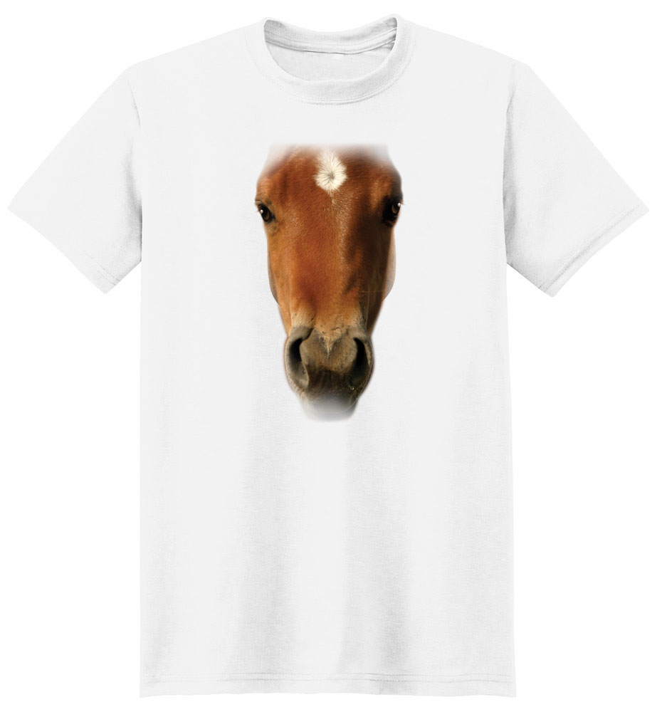 Horse T Shirt Full Face