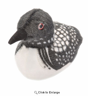 Loon Plush Stuffed Animal 5 Inch