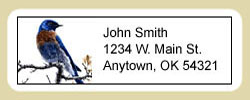 Bluebird Address Labels