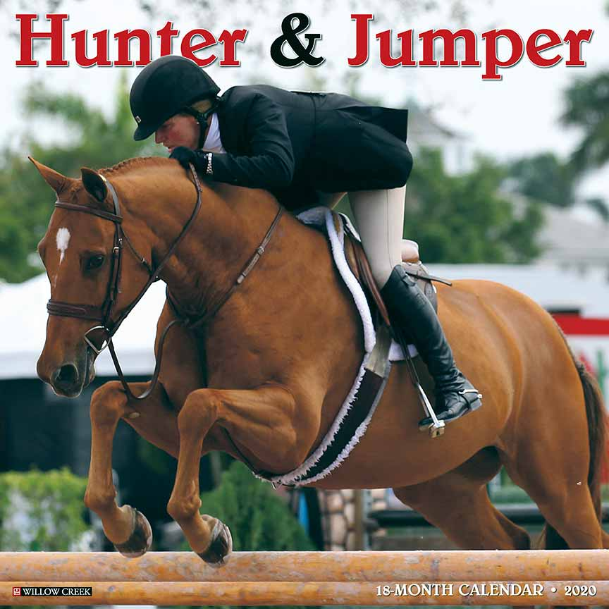2020 Hunter & Jumper Calendar Willow Creek