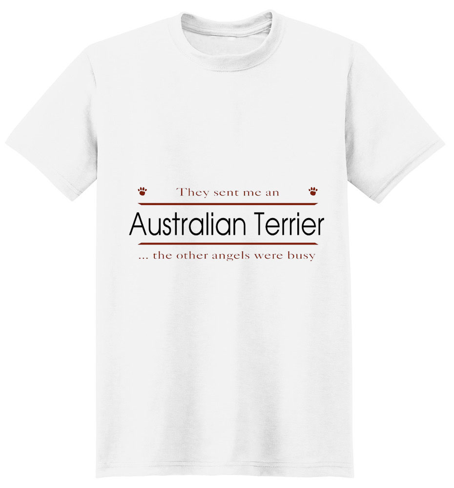 Australian Terrier T-Shirt - Other Angels