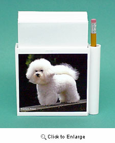 Bichon Frise Hold-a-Note