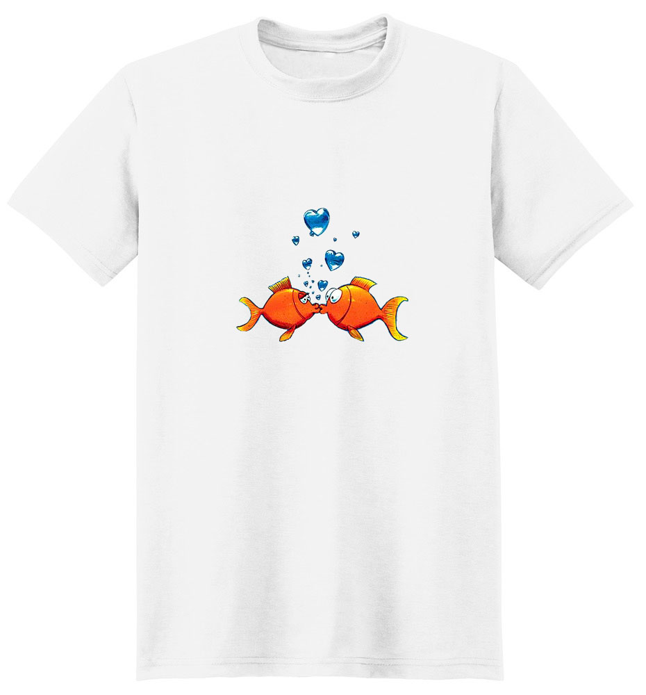 Goldfish T-Shirt - Bubbly